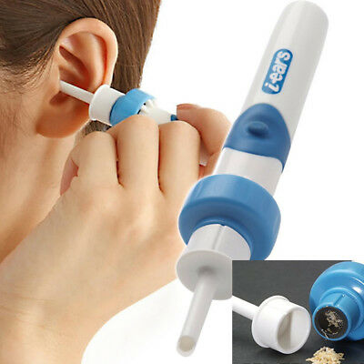 Electric Ear Wax Removal Vacuum Cleaning Cleaner Device Earpick Painless Tool AL