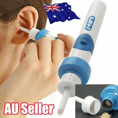 Electric Ear Wax Removal Vacuum Cleaning Cleaner Device Earpick Painless Tool ON