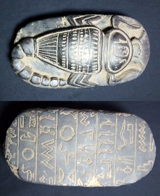 Rare Ancient Egyptian Antique Scorpion 1789-1458 Bc