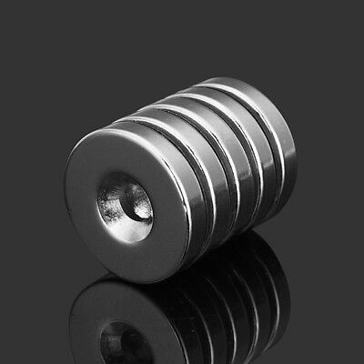 5pcs N35 Strong Disc Neodym Magnete 25mm x 5 mm Round NdFeB Magnete With 6mm