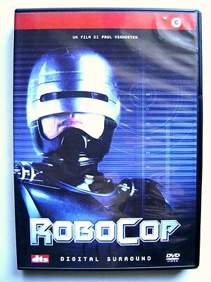 Dvd RoboCop by Paul Verhoeven with Peter Weller 1987 Used rare fuori cat