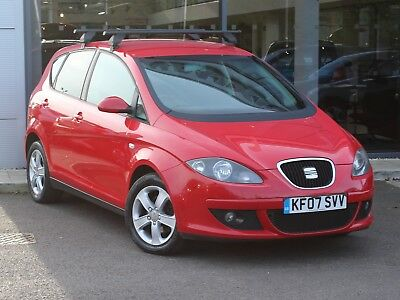 2007 07 SEAT ALTEA 1.9 TDi REFERENCE 5dr [AC] - DIESEL - AUGUST 2019 MOT!