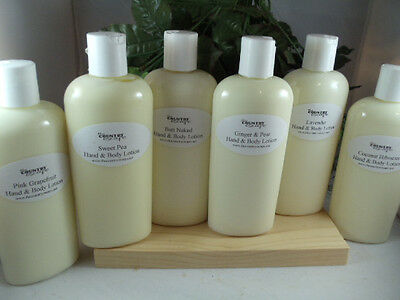 8 oz Organic Hand and Body Lotion- Super Moisurizing -Intense Dry Skin Therapy