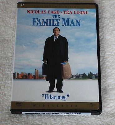 The Family Man (Widescreen Collector's Edition) DVD 2001 Romantic Comedy (tk)