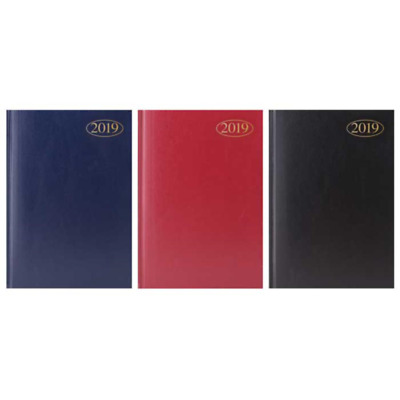 2019 A5 Week To View Diary , Quality Desk Diary 3083