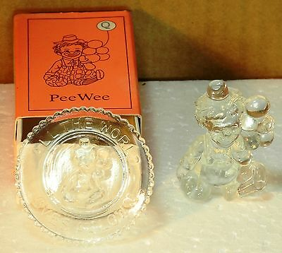 """Mosser Glass Pee Wee the Clown """"Q"""" Crystal"""