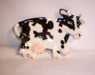 Cow E308 42.2973 Ceramic Cow Spoon  Rest [Only ONE per auction]