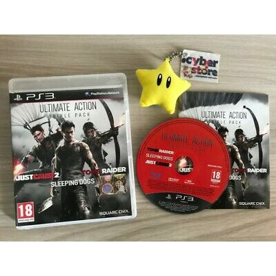 ULTIMATE PACK TRIPLE ACTION (3 giochi) per Playstation 3 PS3 italiano