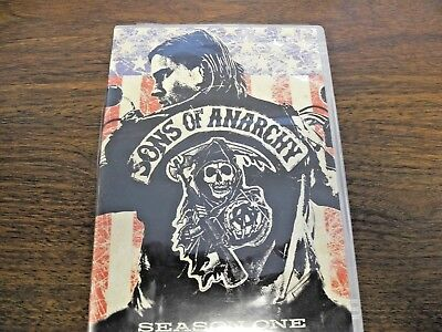 Sons of Anarchy - Season 1 (DVD, 2009, 4-Disc Set) (FREE FAST SHIPPING)