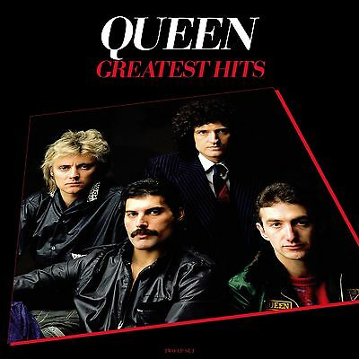 Queen GREATEST HITS (EU) 180g +MP3s BEST OF 17 ESSENTIAL SONGS New Vinyl 2 LP