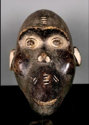 Vintage Tribal Bulu Monkey   Mask   --  Cameroon BN 51