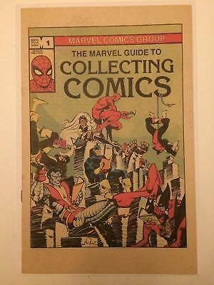 Marvel Guide to Collecting Comics #1 NM UNREAD