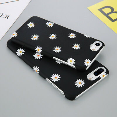 Ultra Slim Daisy Flower Shockproof Case Hard Cover for iPhone 6 7 8 X XR XS Max
