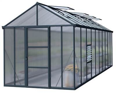 Glory Hobby Greenhouse in Charcoal Gray [ID 3423577]