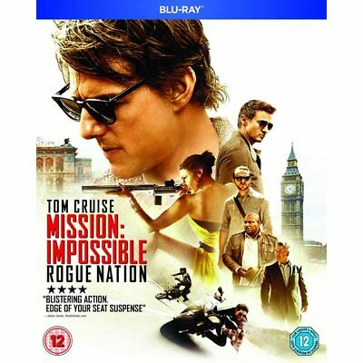 Blu-ray - Mission: Impossible - Rogue Nation - Paramount