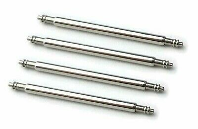 4 X Stainless Steel 1.5mm Watch Pin Spring Bars 6mm to 30mm