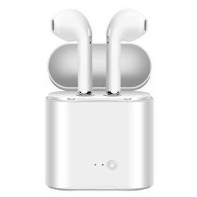Bluetooth Wireless Headset i7s TWS Earbuds w Charger Box- US Seller