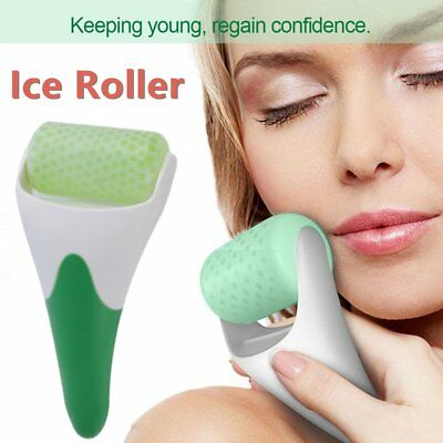 Natural Ice Roller Face Massager Roller Spa Head Neck Body Facial Beauty Tool A6