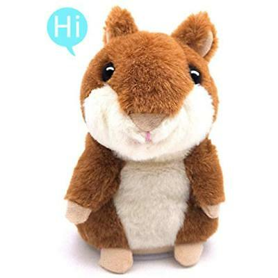 """Talking Hamster, Plush Interactive Toys Repeats What You Say Animal Electronic """""""