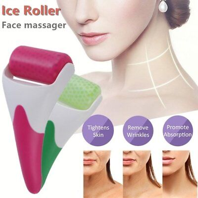 Skin Cool Ice Roller Cold Therapy Face Body Facial Massage Skin Care Machine SH