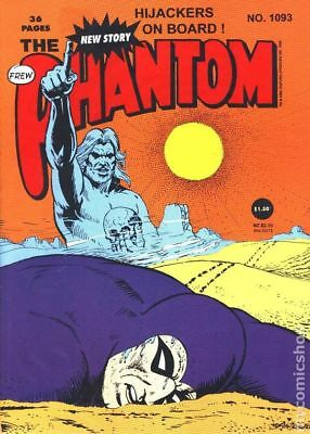 Phantom (Frew) Australian #1093 1994 VG- 3.5 Stock Image Low Grade