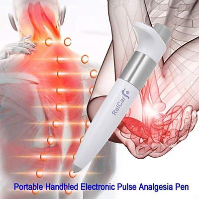 Health Electronic Pulse Analgesia Pen Pain Relief Point Massager Body Relax SH