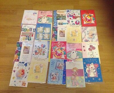 wholesale joblot Birthday Cards