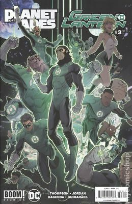 Planet of the Apes Green Lantern #3A 2017 NM Stock Image