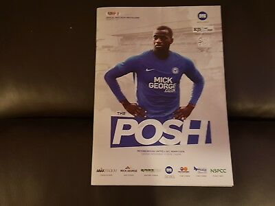 Peterborough United V AFC Wimbledon 2018-2019 27th November 2018