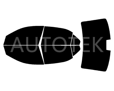 PreCut All Sides + Rear Window Film Any Tint Shade % for Ford Fusion 2006-2012