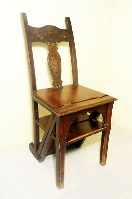 Antique Chinese Folding Chair/Shelf (2802), Circa 1800-1849