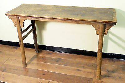 Antique Chinese Ming Painting Table (3013n), Manchurian Ash Wood, 1800-1849