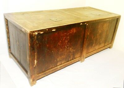 Antique Chinese Coffee Table/Treasure Trunk (2858), Circa 1800-1849