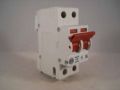 Wylex Main Switch Disconnector 125 Amp Double Pole Isolator 125A WS122