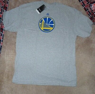 info for 79698 c0f44 NEW NBA Golden St State Warriors Basketball T Shirt Men L Large Grey Gray  NWT