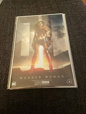 Wonder woman 31 nm uber hot convention foil cover
