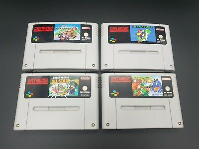 Super Nintendo - Snes - Mario - Kart - Yoshi - World 2 - All Stars - Top - Modul