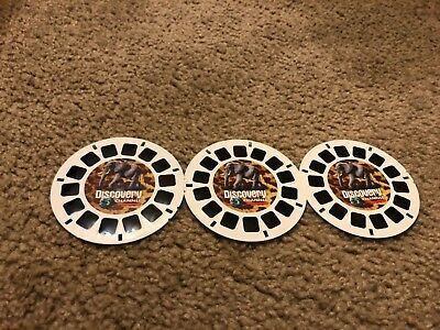 Discovery Channel: Safari 3-reel Set 34717 - Reels Only - View-Master