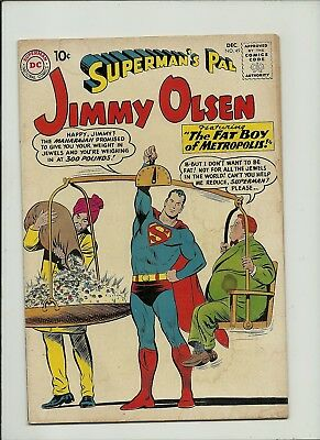 Superman's Pal Jimmy Olsen #49 1960 Dc Comics Silver Age  Solid Gd/vg