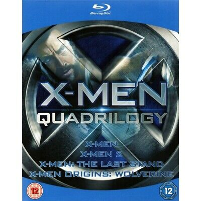 X-MEN QUADRILOGY collezione 4 film BLURAY Blu-Ray X MEN cofanetto nuovo