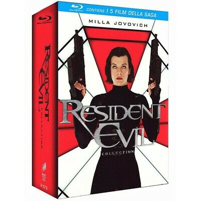 RESIDENT EVIL COLLECTION nuovo cofanetto BLURAY blu-ray tutta la saga originale