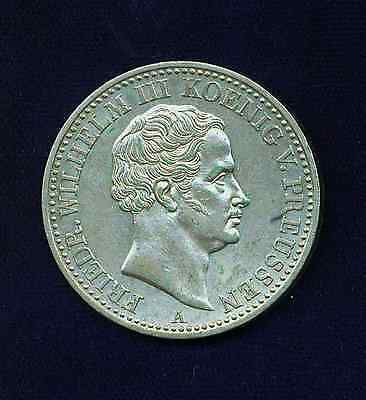 Germany Prussia 1840-A 1 Thaler  Silver Coin, Uncirculated, Nice!!!