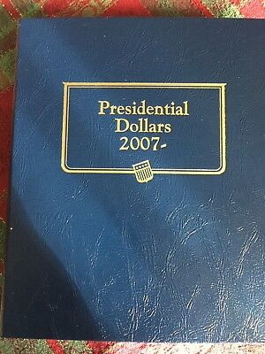 Presidential Dollars 2007- Book With Presidential Coins