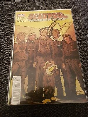 Deadpool 45 nm rare what the duck variant cover