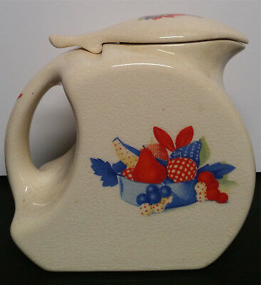 Universal Cambridge Pottery Flower Water Refrigerator Pitcher Dinnerware China