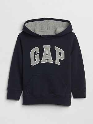 NWT Toddler Boys size 4T Gap Logo hoodie pullover Blue Galaxy