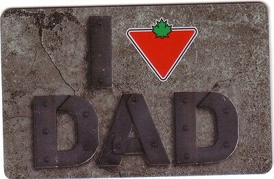 Canadian Tire The Corp Gift Card From Canada Bilingual No Value