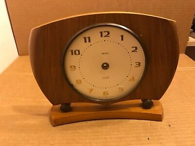 Vintage Wooden Case / Body For Smiths Sectronic Battery Clock