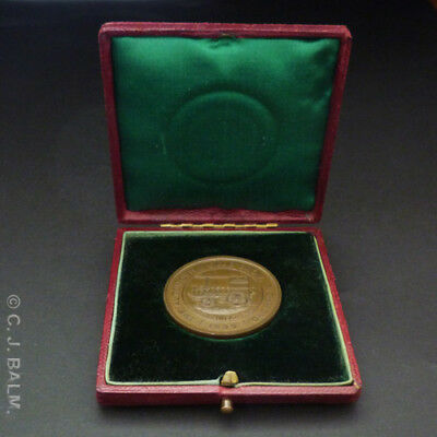 Rare & Historical '1899 Automobile Club Show' Prize Medal – First RAC Motor Show