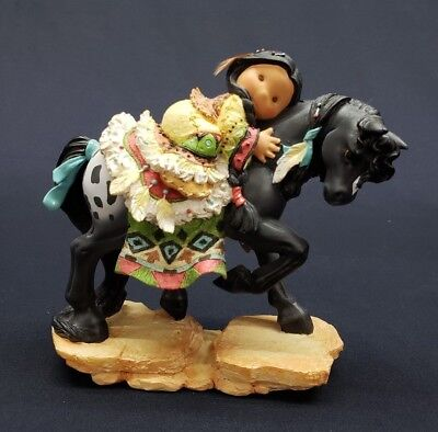 """Enesco Friends Of The Feather """"A Friend Is Someone You Can Hold On To"""" Figurine"""